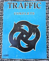 TRAFFIC COMPLETE : PIANO - VOCAL - GUITAR Songbook ENGLISH ROCK Starshine Library 1970 by Steve Winwood, Jim Capaldi, Chris Wood, Dave Mason