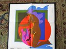 Another image of JOHN ALCORN Poster Calendar PSYCHEDELIC NUDE WOMAN Sanders Printing Promo 1970