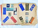 Another image of 1937-1938 SCRAPBOOK of HAWAIIANA & STEAMSHIP TRAVEL to/from HAWAII including USN Stuff