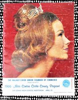 1966 MISS CONTRA COSTA COUNTY BEAUTY PAGEANT Official MISS AMERICA Preliminary Event
