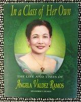 Filipina ANGELA VALDEZ RAMOS Biography PHILIPPINES History **SIGNED & INSCRIBED** by Melandrew T. Velasco