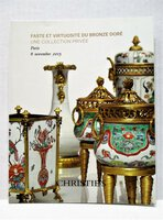 BRONZE DORÉ / GILDED BRONZE Private Collection CHRISTIE'S PARIS Illustrated 2015