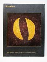 LUCIO FONTANA : CONCETTO SPAZIALE, LE CHIESE DI VENEZIA Sotheby's Auction Catalog 2013