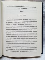 1991 UCSF Original PhD THESIS in PHARMACEUTICAL CHEMISTRY Anthony L. Handlon University of California, San Francisco by Anthony L. Handlon