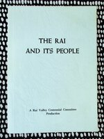 RAI VALLEY, NEW ZEALAND Centennial History 1881-1981 ILLUSTRATED by Rai Valley Centennial Committee