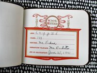 1941 BROOKLYN JUNIOR HIGH SCHOOL AUTOGRAPH BOOK - PS 149 East New York Junior High School