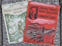 2 Songbooks ROYAL COLLECTION OF HAWAIIAN SONGS + HAWAIIN KAMIKI GUITAR METHOD by Johnny Noble