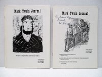 Two Issues MARK TWAIN JOURNAL 1986 & 1989 One SIGNED Steamboats, Twain Genealogy by Ed Branch, et al