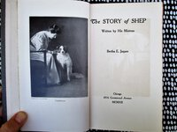 1912 STORY OF SHEP (the Family DOG) by BERTHA E. JAQUES Noted Chicago Etcher & Photographer **SIGNED & INSCRIBED** by Bertha E. Jaques