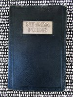 1927 NEVADA POEMS by FEDERATION OF WOMEN'S CLUBS **INSCRIBED by CLUB PRESIDENT**