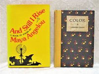 """Black Poets COUNTEE CULLEN & MAYA ANGELOU Two Books """"COLOR"""" & """"AND STILL I RISE"""" 1927 & 1978 by Countee Cullen, Maya Angelou"""