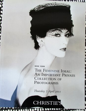 THE FEMININE IDEAL Collection of NUDE & FASHION PHOTOGRAPHS by Master Photographers Christie's Auction Catalog ILLUSTRATED