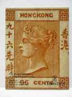 FINE STAMPS & COVERS of HONG KONG & CHINA with SHANGHAI LOCAL POSTS Christie's Auction Catalog ILLUSTRATED