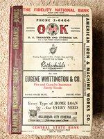 1947 OKLAHOMA CITY, Oklahoma, CITY DIRECTORY w/ EVERY RESIDENT'S NAME ADDRESS & TRADE Genealogy