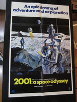 2001 A SPACE ODYSSEY Original 1968 Movie One Sheet POSTER Style B KUBRICK SCI-FI by Stanley Kubrick