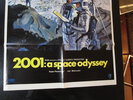 Another image of 2001 A SPACE ODYSSEY Original 1968 Movie One Sheet POSTER Style B KUBRICK SCI-FI by Stanley Kubrick