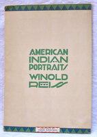 1928 AMERICAN INDIAN PORTRAITS Blackfeet WINOLD REISS Vintage ART DECO Catalogue American Indian Portraits
