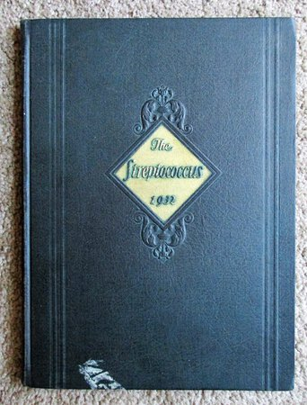 """1932 YEARBOOK of ROCHESTER GENERAL HOSPITAL SCHOOL OF NURSING """"The Streptococcus"""""""