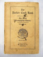 1932 PARKER COOKBOOK ABILENE TEXAS - OWNED & SIGNED by CHEF JEREMIAH TOWER
