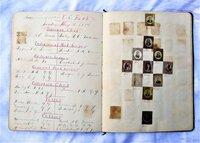 1894 EASTMAN BUSINESS COLLEGE AUTOGRAPH ALBUM w/ 190 Miniature ALBUMEN PHOTOS