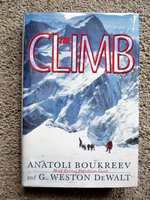 ANATOLI BOUKREEV **SIGNED & INSCRIBED** THE CLIMB: TRAGIC AMBITIONS ON EVEREST Mountaineering Disaster by Anatoli Boukreev, G. Weston DeWalt