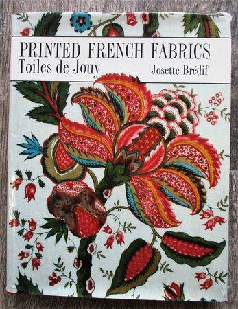 PRINTED FRENCH FABRICS / TOILES DE JOUY w/ 196 Illustrations TEXTILE DESIGN by Josette Bredif