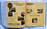 Another image of 1936 Original SAN FRANCISCO, CALIFORNIA, CITY DIRECTORY Residents & Businesses
