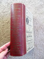 1947 EUGENE & SPRINGFIELD, OREGON, CITY DIRECTORY w/ Every RESIDENT & BUSINESS