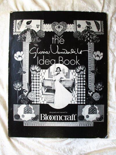 Vintage GLORIA VANDERBILT Idea Book INTERIOR DESIGN FABRIC ART with 14 of Her ORIGINAL ARTIST SAMPLES by Gloria Vanderbilt