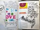 Another image of Vintage GLORIA VANDERBILT Idea Book INTERIOR DESIGN FABRIC ART with 14 of Her ORIGINAL ARTIST SAMPLES by Gloria Vanderbilt
