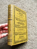1920 NORWICH, CONNECTICUT, CITY DIRECTORY w/ Every RESIDENT & BUSINESS + Fold Open MAP