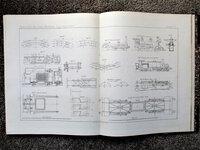1877 ATLAS Volume RAILWAY LOCOMOTIVES / TRACCIÓN EN VÍAS FÉRREAS LOCOMOTORA with 35 DOUBLE PAGE ILLUSTRATED PLATES by José Marvá y Mayer