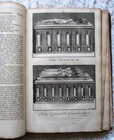 1723 WESTMONASTERIUM: OR THE HISTORY AND ANTIQUITIES OF THE ABBEY CHURCH OF ST PETERS WESTMINSTER - 2 Folio Volumes with 133 PLATES by John Dart