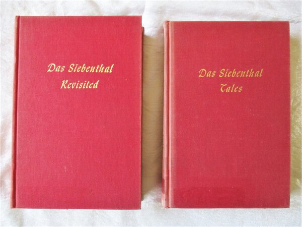 Two Books DAS SIEBENTHAL REVISITED : TALES of the PEOPLE of SEVEN VALLEYS of PENNSYLVANIA + DAS SIEBENTHAL TALES **Both SIGNED & INSCRIBED** Association Copies by Armand Gladfelter