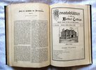Another image of 24 Issues 1903-1904 MONATSBLÄTTER AUS BETHEL COLLEGE, KANSAS (Monthly Journal of Bethel College, Kansas) TEXT in GERMAN FRAKTUR