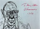 Another image of 1963 STRAVINSKY AND THE THEATRE - Hand SIGNED, INSCRIBED & DATED by the COMPOSER by Igor Stravinsky