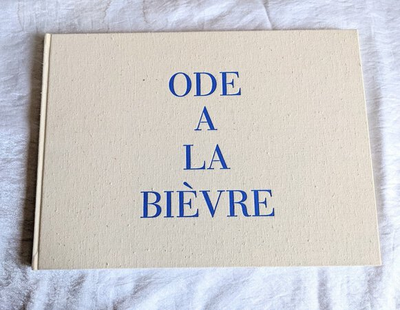 LOUISE BOURGEOIS - ODE A LA BIÈVRE with 24 ART PLATES Limited 1/1800 in Slipcase by Louis Bourgeois