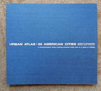 URBAN ATLAS : 20 AMERICAN CITIES w/ 64 Fold-Open Color MAPS Rare FOLIO by Renowned ARCHITECTS by Joseph R. Passonneau and Richard Saul Wurman