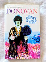DONOVAN Autobiography **HAND SIGNED** THE HURDY GURDY MAN First / First by Donovan Leitch