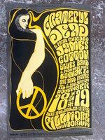 1966 ORIGINAL Poster GRATEFUL DEAD Wes Wilson FILLMORE San Francisco ~ BG 38 OP