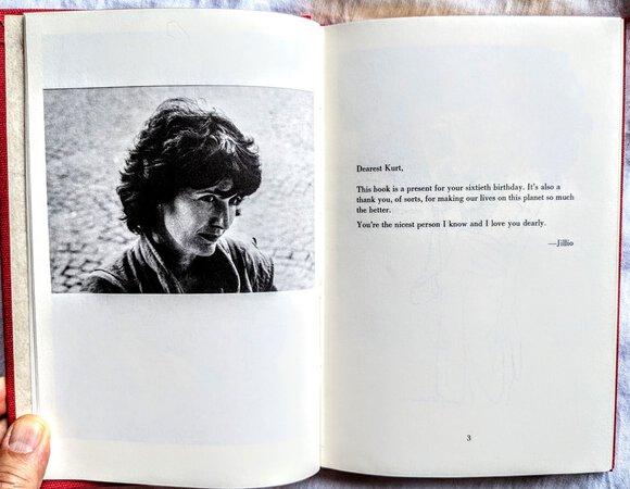 1982 HAPPY BIRTHDAY, KURT VONNEGUT Festschrift GIFT for HIS 60TH BIRTHDAY First Edition Limited to only 500 Copies by Kurt Vonnegut et al, Jill Krementz Compiler and Editor