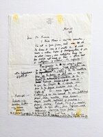 ROBERT GRAVES HANDWRITTEN & SIGNED LETTER From his Expat Home in SPAIN - in ENGLISH & SPANISH 1966 by Robert Graves