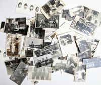 85 PHOTOS of COLLEGE of EMPORIA KANSAS STUDENTS with NAMES on BACKSIDES Collection of DELLA PEASE and JOHN ELLIOTT ROSS circa 1912 Genealogy by Della Pease, John Elliott Ross