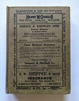 1933 Original PROVIDENCE RHODE ISLAND CITY DIRECTORY with Every RESIDENT & BUSINESS