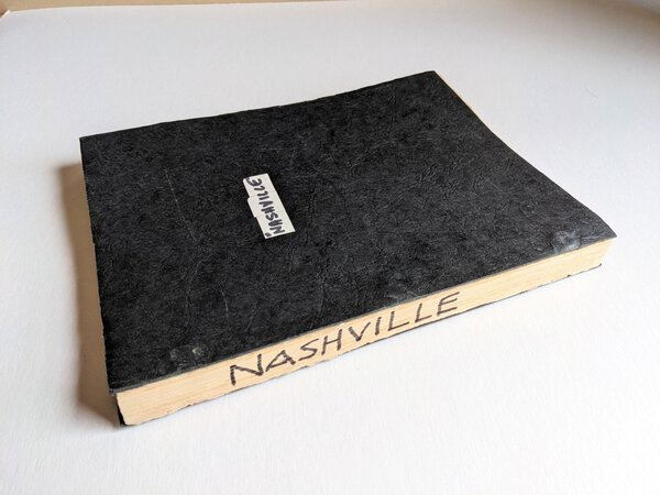 1975 NASHVILLE - ORIGINAL RELEASE DIALOGUE SCRIPT / SCREENPLAY a ROBERT ALTMAN FILM MASTERPIECE by Joan Tewkesbury, Robert Altman